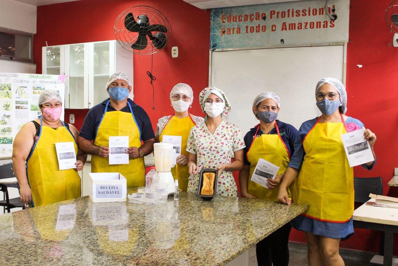 Seas promove oficinas de produção de receitas nutritivas e de baixo custo em alusão ao Dia Mundial da Alimentação
