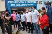 Wilson Lima convoca 347 aprovados no concurso da Seduc e anuncia a revitalização de escolas de Itacoatiara