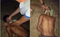 Em vídeo, homem tem orelhas cortadas e cabeça arrancada do corpo ainda vivo