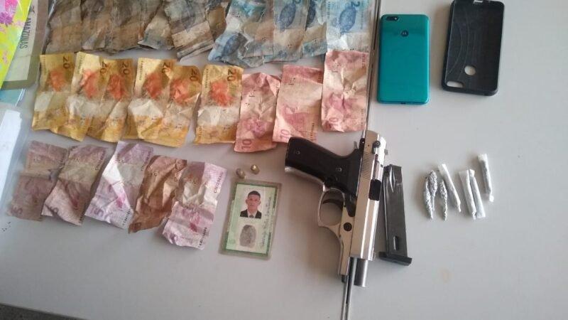 Polícia Militar detém dupla por assalto no município de Benjamin Constant
