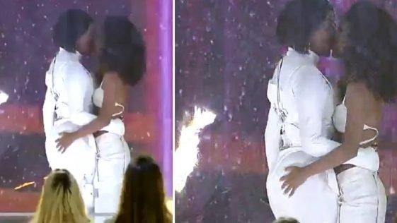 BBB21; Clima pega fogo entre Ludmilla e Brunna em festa no reality e vídeo viraliza; Assista!