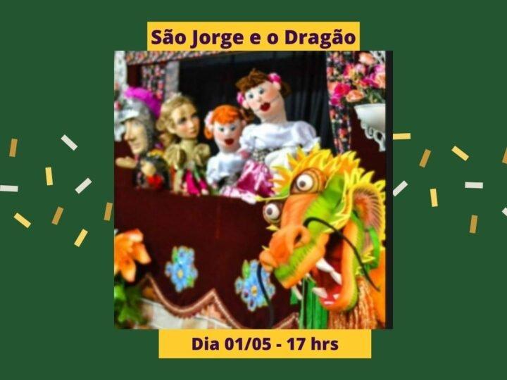 """'Livro Vivo' e São Jorge e Dragão entram em cena no projeto """"Metamorfoseando por Aí"""""""