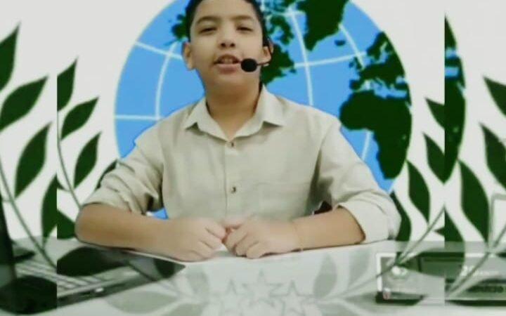 Alunos de escola estadual na zona sul produzem telejornal para alertar sobre riscos da Covid-19