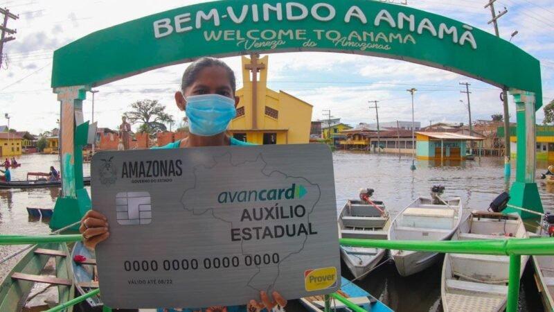 Defesa Civil do Amazonas já enviou mais de 13 mil cartões do Auxílio Estadual Enchente para seis municípios