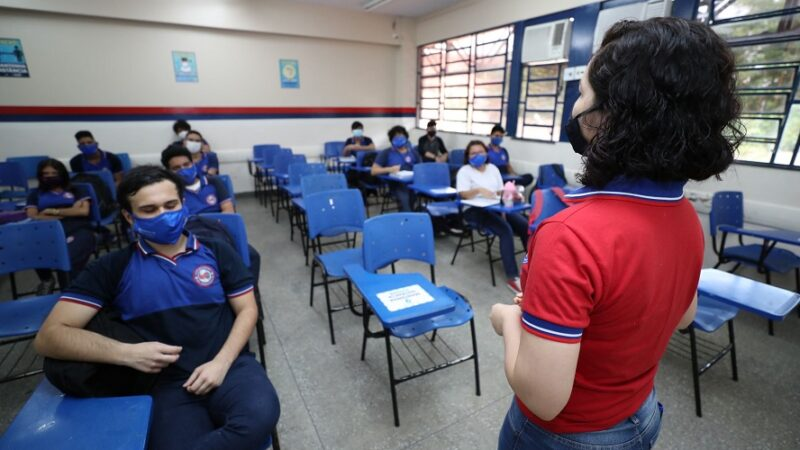 Secretaria de Educação oferece 2,4 mil vagas em cursos de qualificação a professores e pedagogos da rede estadual