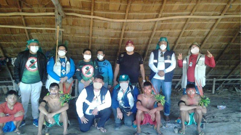 Em Barcelos, FVS-RCP realiza investigação e controle de malária em aldeias Yanomami