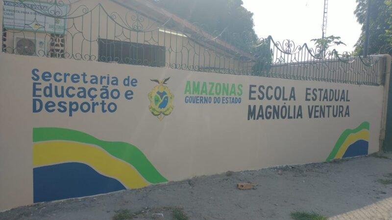 Governo do Amazonas investiu mais de R$ 2,2 milhões em melhorias das escolas de Manacapuru