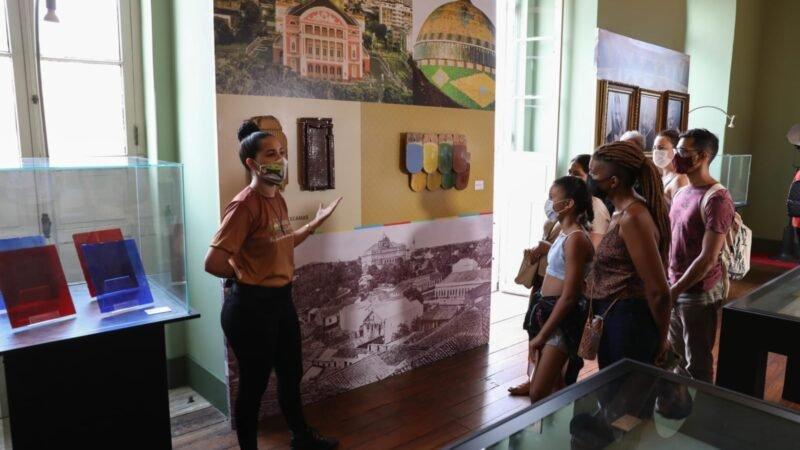 Exposição abre contagem regressiva dos 100 dias para o aniversário de 125 anos do Teatro Amazonas