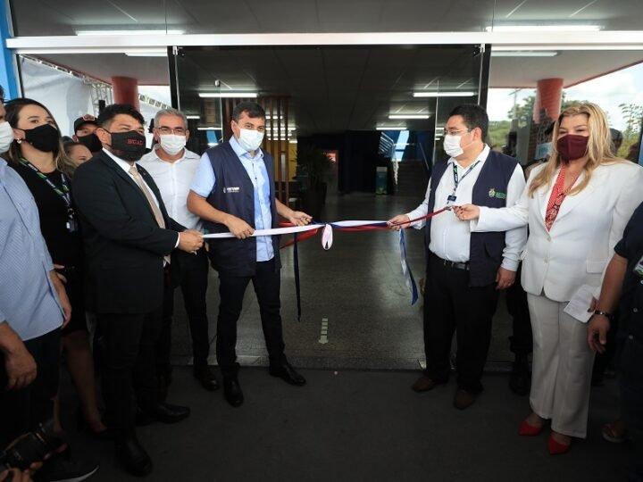 Governador Wilson Lima inaugura a maior e mais moderna escola do Cetam, a primeira da zona norte de Manaus