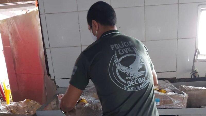 PC-AM deflagra Operação Alimento de Deméter e apreende 5 toneladas de alimentos