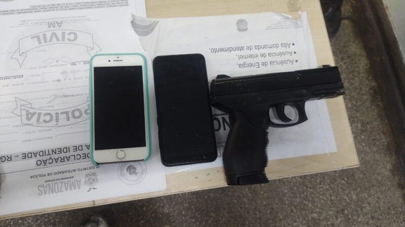 PMAM detém homem por roubo de celulares, na zona norte