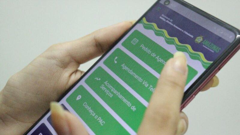 Número de solicitações de agendamentos on-line do aplicativo PAC Digital passa de 11 mil